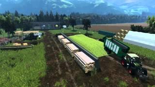 getlinkyoutube.com-[LS15] Landwirtschafts-Simulator 2015|Mais häckseln
