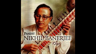 getlinkyoutube.com-Raag Rageshree by Pandit Nikhil Banerjee and Pandit Anindo Chatterjee on Tabla