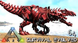 ARK: SURVIVAL EVOLVED - TEK GIGANOTOSAURUS TAME TEK GIGA !!! E64 (MODDED ARK EXTINCTION CORE)
