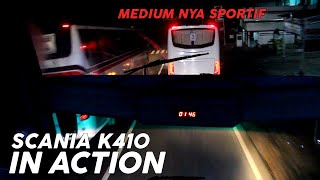 getlinkyoutube.com-Scania K410 Satria Muda in Action (Menembus Jalur Selatan) Part II