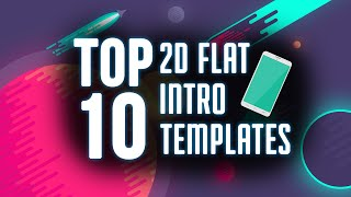 getlinkyoutube.com-Top 10 FREE 2D Flat Intro Templates of 2015-2016 After Effects, Blender, and Camtasia[January 2016]