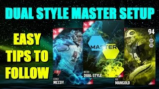 getlinkyoutube.com-DUAL STYLE MASTER SETUP! HOW TO BEAT THE DUAL STYLE SOLOS! Madden 16 Ultimate Team