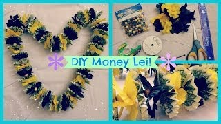 getlinkyoutube.com-DIY Money Lei!