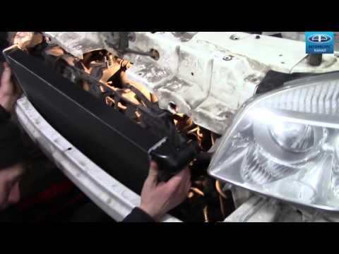 Как снять и поменять радиатор фиат добло 1.9л 2008 г fiat doblo 1.9l 2008 видео