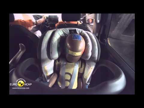 Euro NCAP Crash Test of Mercedes Benz V Class 2014