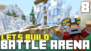 getlinkyoutube.com-Battle Mode Arena Let's Build!! (Part 8 - Minecraft Xbox One)
