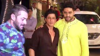 getlinkyoutube.com-Bollywood DIWALI Party 2015 | Salman, Shahrukh, Aamir Katrina, Hrithik