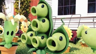 Plants vs Zombies 3D Cartoon Animation PvZ King Hyper Zombie ! 植物大战僵尸!