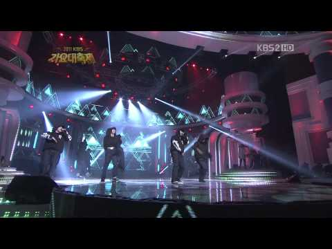 [111230 Gayo] 2PM - Electric City + Hands Up (Gayo Daejun KBS)