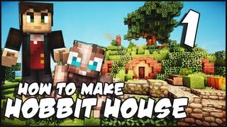 Minecraft: How To Make a Hobbit House - Part 1