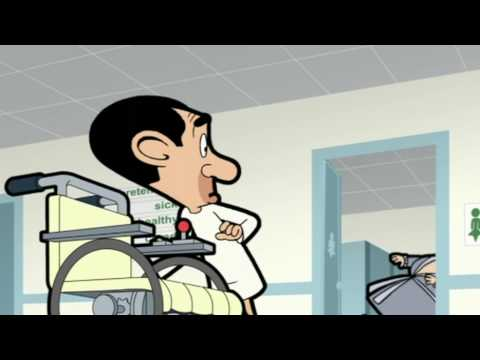 X-ray and operation - Mr Bean Cartoon -- Röntgen und Operat