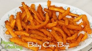 getlinkyoutube.com-Baby Corn Bajji Recipe | Ventuno Home Cooking