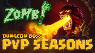 Zombi | Dungeon Boss | PVP Seasons | Koros Faceroll Teams