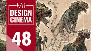 getlinkyoutube.com-Design Cinema – EP 48 - Creature Sketching