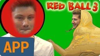 getlinkyoutube.com-Red DNERball [Red Ball 3]