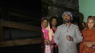 मसूरी में तूफ़ान के चलते आवासीय भवनों की छतें उड़ी, जान बचाने को घर छोड़कर भागे परिवार