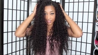 getlinkyoutube.com-Fierce 26'' Full Lace Wig from Diva Wigs. Show and Tell