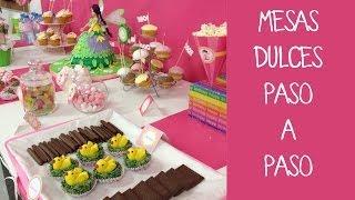getlinkyoutube.com-Cómo preparar una mesa dulce para fiesta infantil