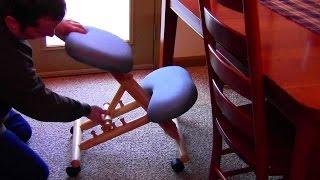 getlinkyoutube.com-Ergonomic Kneeling Chair Review