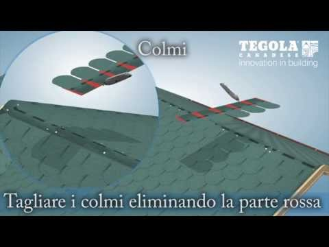 tegola TRADITIONAL - video di posa