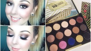 getlinkyoutube.com-Smokey Eyes with UD Gwen Stefani Palette!!!