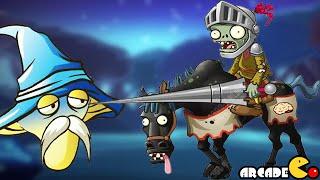 getlinkyoutube.com-Plants Vs Zombies 2: New World Dark Ages Night 22 Horse Rider