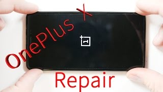 getlinkyoutube.com-One Plus X Tear Down, Screen Repair, Charging Port fix, battery Replacement