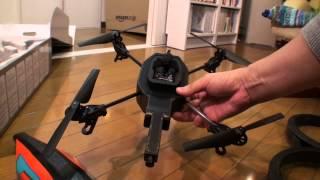 getlinkyoutube.com-20120705 AR.Drone2.0到着したので開梱してみた