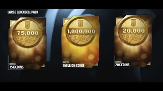 getlinkyoutube.com-ONE MILLION COINS! 28 LARGE QUICKSELL PACK OPENING! Madden 16 Ultimate Team