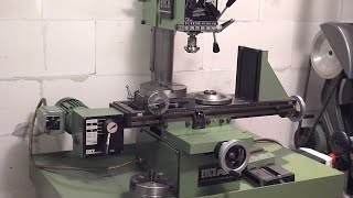 getlinkyoutube.com-Emco FB2 Milling Machine with Accessories