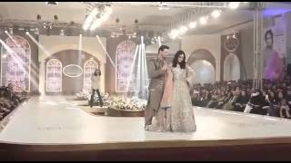 getlinkyoutube.com-DiyareDil fame couple, Osman Khalid Butt and Maya romance on ramp