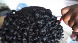 getlinkyoutube.com-**INSTALL!!!!** Pre-Curled Crochet Braids