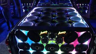 Nova Montana com Amplificadores e Fonte Spark Usina