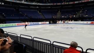 Ashley Wagner Free Skate Run-Through Worlds 2017 27.03.17
