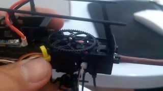 getlinkyoutube.com-Wltoys V977 Power Star X1 - Dica Main Gear Original
