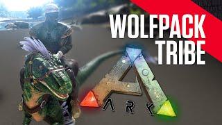 getlinkyoutube.com-ARK: Survival Evolved - WOLFPACK Tribe