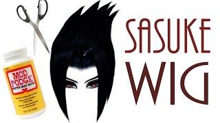 How to make a Doll Wig [ Sasuke ]