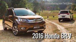 getlinkyoutube.com-[Test Drive] Honda BR-V 2016 : ดีไซน์เด่น ราคาได้ ประหยัดน้ำมัน ให้สามผ่าน!
