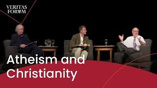 getlinkyoutube.com-Atheism and Christianity - a conversation between John Lennox and CU professor Michael Tooley