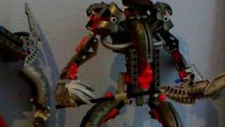 getlinkyoutube.com-Random Bionicle Reviews Part 2 - Makuta Teridax and Takanuva Combiner Set