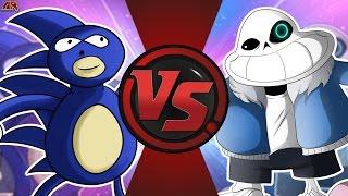 SANIC vs SANESS! (MLG vs Underpants/Undertale Meme) Cartoon Fight Club Episode 169!