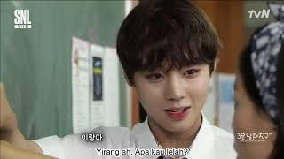 [INDO HARDSUB] Wanna One Park Jihoon x SNL Korea 3 minute boyfriend