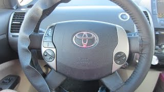 getlinkyoutube.com-How to Install Genuine Leather Steering Wheel Cover - Part 1