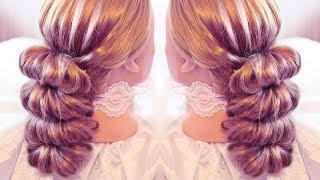 getlinkyoutube.com-Причёска с помощью резинок - Красота! - 5 - Hairstyles by REM
