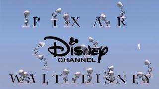 getlinkyoutube.com-298-Twenty One Pixar Lamps Luxo Jr Logo Spoof Pixar-Walt Disney-Disney Channel With Time Reverse