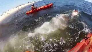 getlinkyoutube.com-Pescadinhas no Jumping Jig em Itaipuaçú - Pesca com Caiaque - Kayak Fishing - Leogafanha