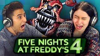 getlinkyoutube.com-FIVE NIGHTS AT FREDDY'S 4 (REACT: Gaming)