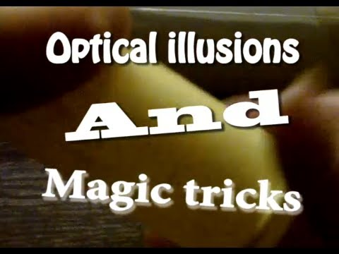 Optical Illusions And Magic Tricks - Episode 1: It's stuck to my hand!