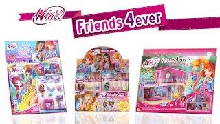getlinkyoutube.com-Winx Friends 4ever - Scopriamo insieme l'intera collezione e la Magica Casa