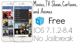 How to Watch Free Movies Cartoons and More iOS 7.1.2-8.4 PlayboxHD